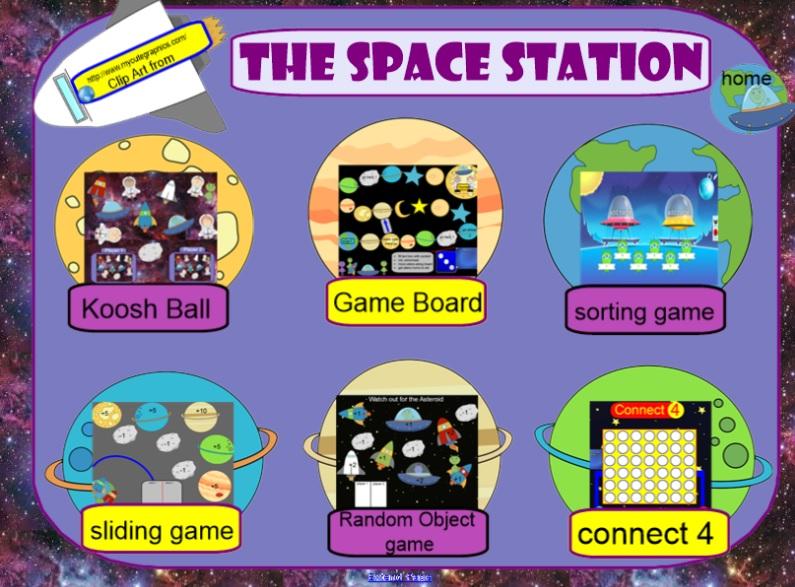 Smartboard Game Templates